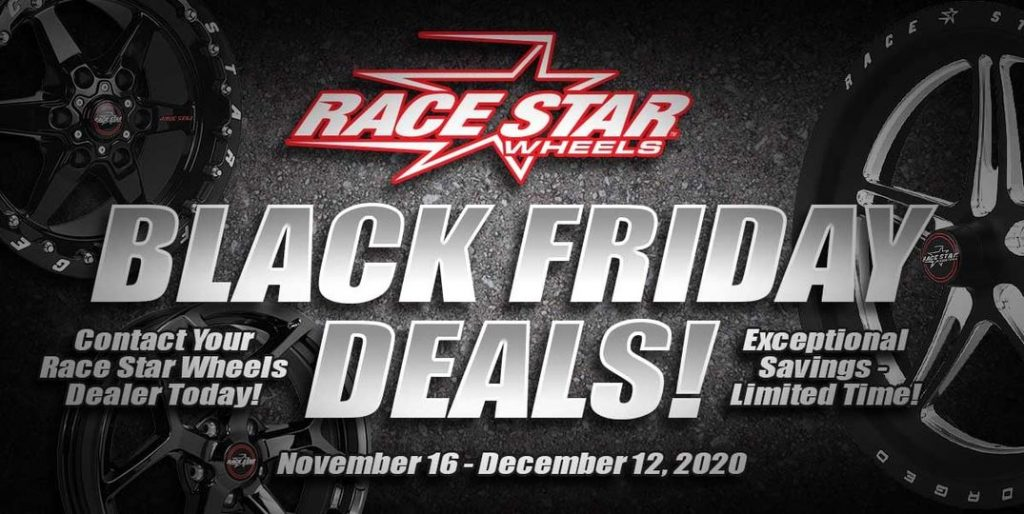Our Black Friday Sale has started!! Contact your Race Star Dealer today or log...