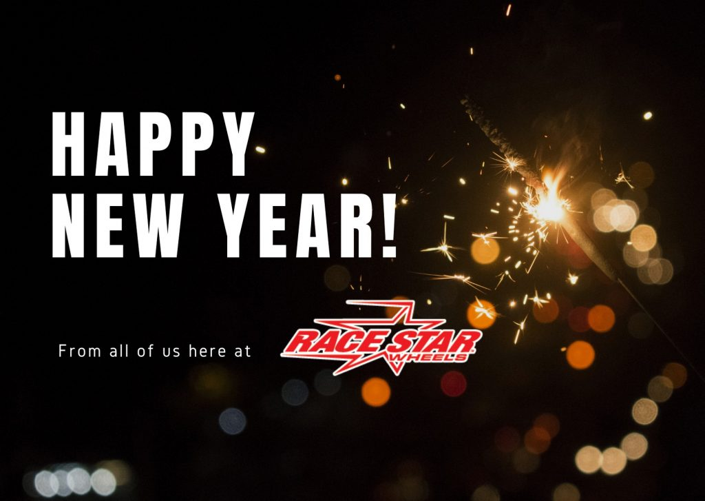 Happy 2021 from all of us here at Race Star Wheels!  #racestarwheels #racestar...