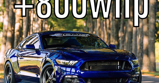 EcoBoost Mustang Breaks World Record with 800+ HP Dyno Pull