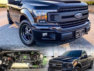 Check out this killer F150 owned by @aj.turtle_ rolling on our 93 Truck Stars!...
