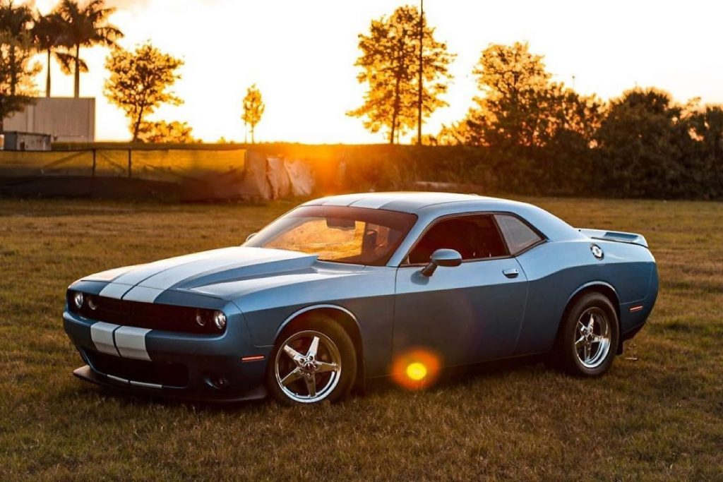 One gorgeous Challenger rolling on Race Star Wheels!!   Owner: @sean_bigb5 ...