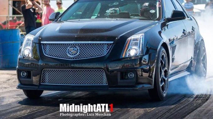 This Race Star Equipped Caddy hauls!!   Owner: @4dr_vixen   : @midnightatl1   ...
