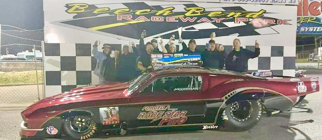 Congratulations to Judd Coffman for winning the Race Star Wheels Pro Mod Challenge this past weekend at Beech Bend Raceway Park!